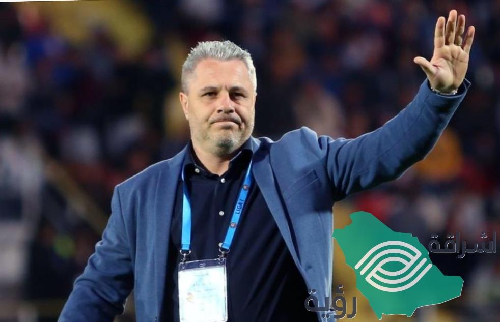 """"""" نادي الشباب"""" إلغاء عقد المدرب ماريوس سوموديكا بإتفاق الطرفين"""