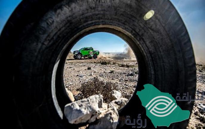"""سائق الراليات السعودي """"يزيد الراجحي"""" يشارك في رالي كازاخستان"""