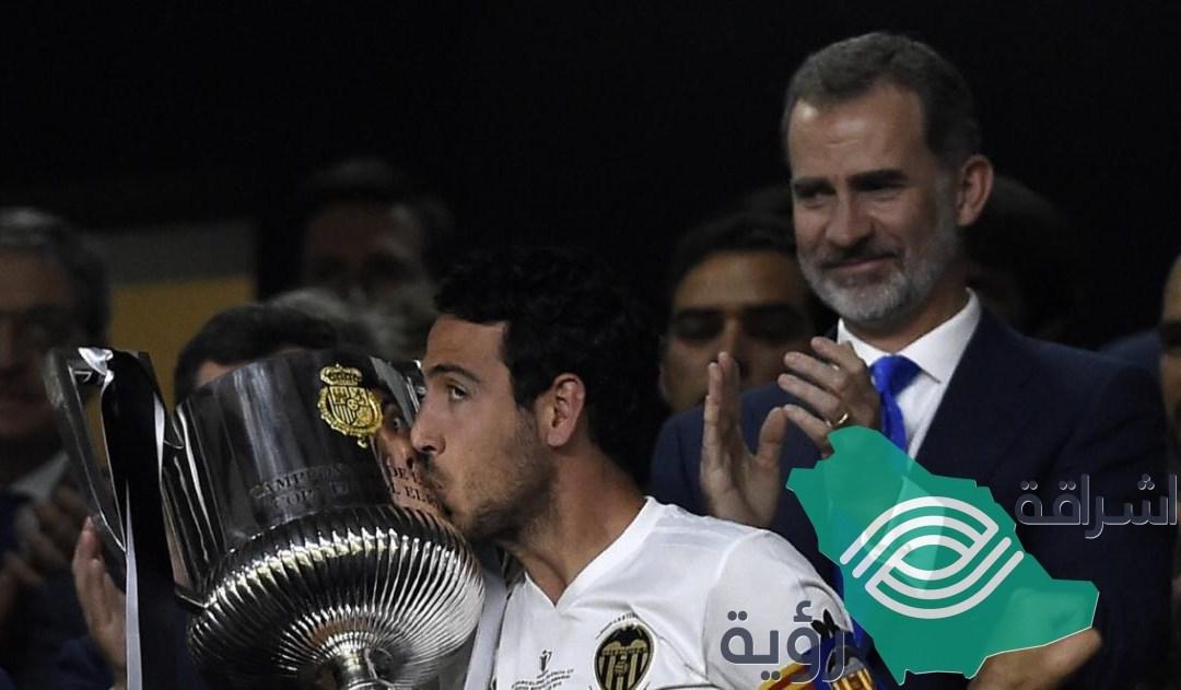"""""""كأس ملك اسبانيا"""" لنادي بلنسية للمرة الثامنة في تاريخه"""
