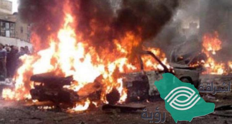 مقتل 4 أشخاص بسبب انفجار سيارة مفخخة في بنغازي