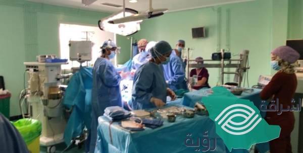 حملة سعودية لإنقاذ أطفال المغرب