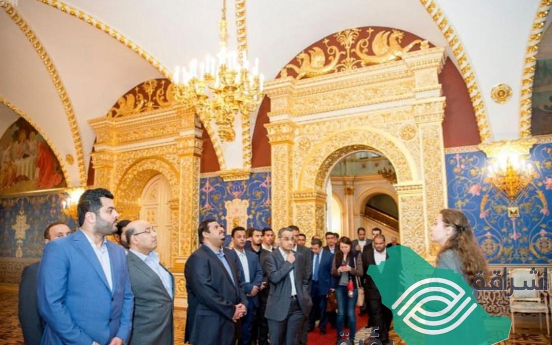 زيارة نائب أمير منطقة الرياض قصر الكرملين في العاصمة الروسية موسكو