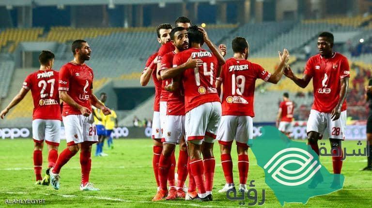 دخول الأهلي المصري التاريخ عد تسجيله 9 أهداف نظيفة
