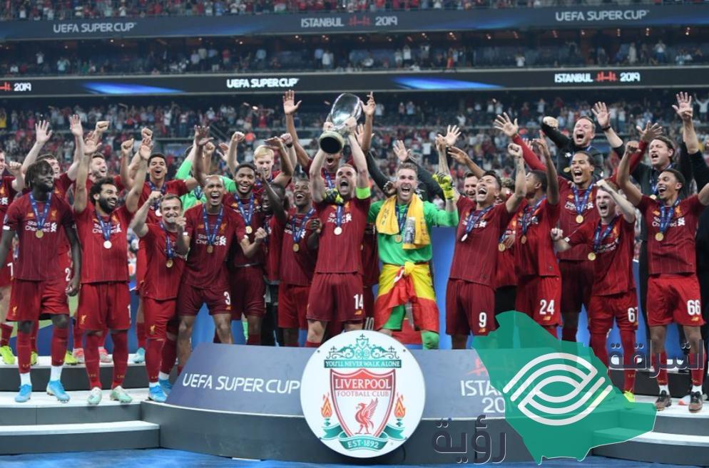 ركلات الترجيح توجت ليفربول بلقب بطل كأس السوبر الأوروبي