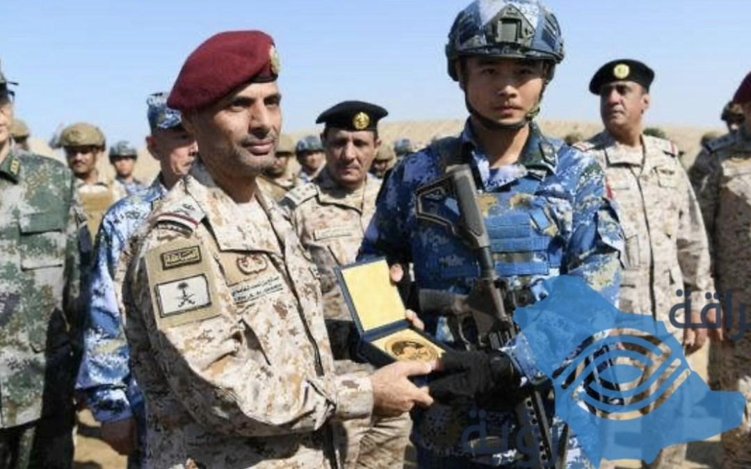 القوات البحرية الملكية السعودية تختتم تمرين السيف الأزرق 2019م مع نظيرتها القوات البحرية الصينية