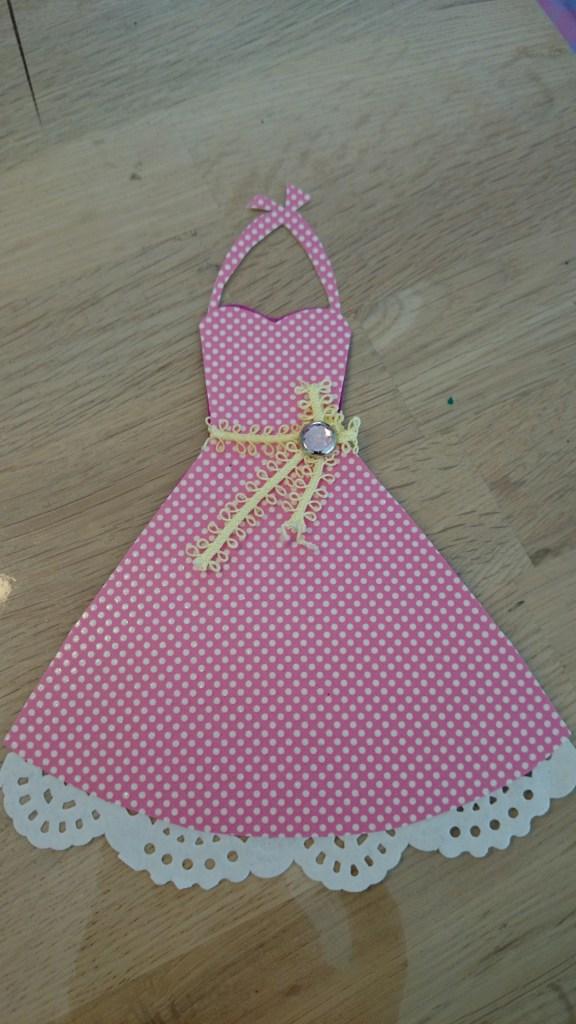 Kort rockabilly kjole