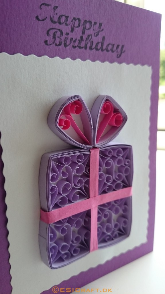 Quilling gave