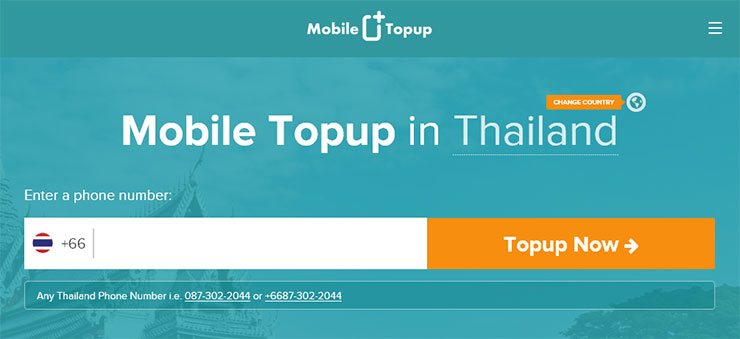 Add Sim2fly credit at mobiletopup