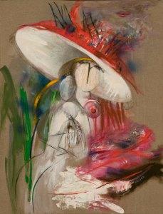 1999, Maternité, 100 x 81 cm