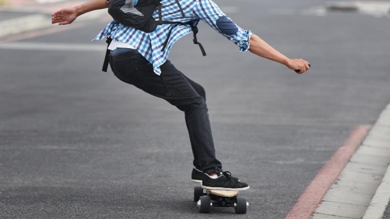 Electric Skateboard Tricks