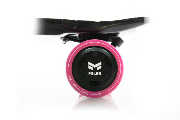 Miles electric skateboard rear hub wheels