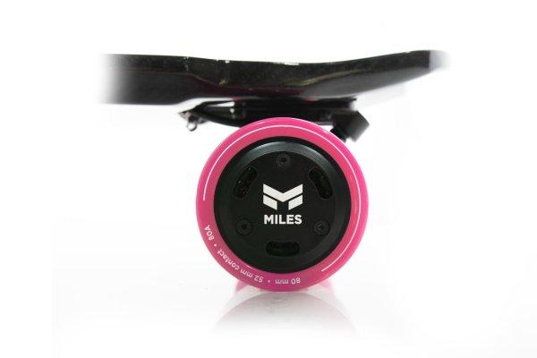 Miles electric skateboard rear hub wheels