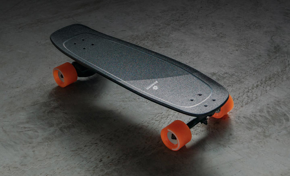 Boosted Mini on Concrete