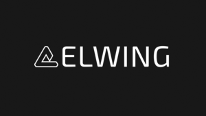 Elwing Logo White on Black