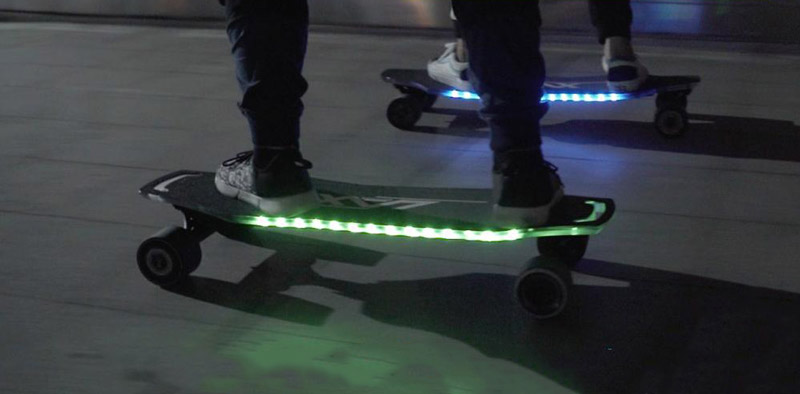 Laxboards Lax One LED Lights