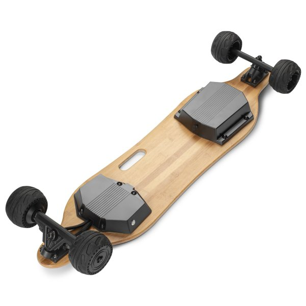 Triple Boards 1.0 electric longboard underneath