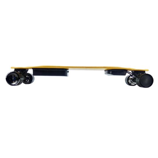 AEboard AE2 electric skateboard side profile view