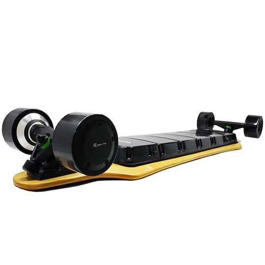 AEboard AX electric longboard rear motors and enclosure