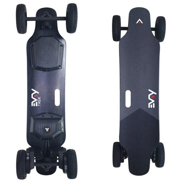 EVRY Trek 2-in-1 electric skateboard
