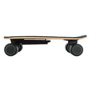 Swagtron Swagskate AI electric skateboard side profile view