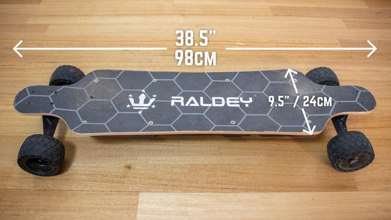 Raldey Mt-V3 Deck Dimensions