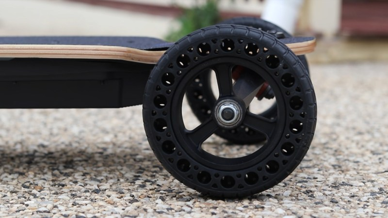 Meepo City Rider 2 Airless Rubber wheels