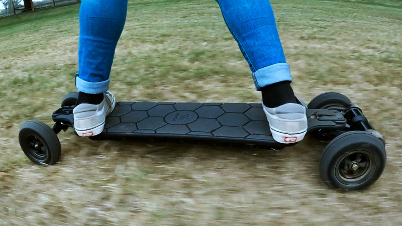 Riding WowGo AT2