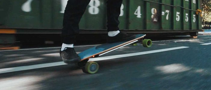 Acton Blink S2 Electric Skateboard Trick
