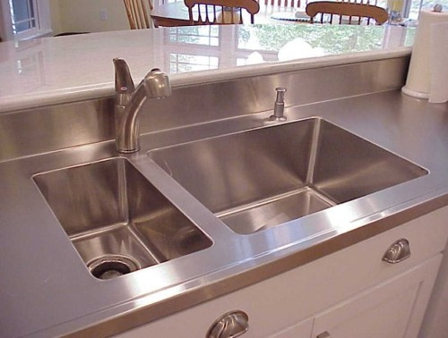 Countertops, Stainless Steel And Stainless Steel