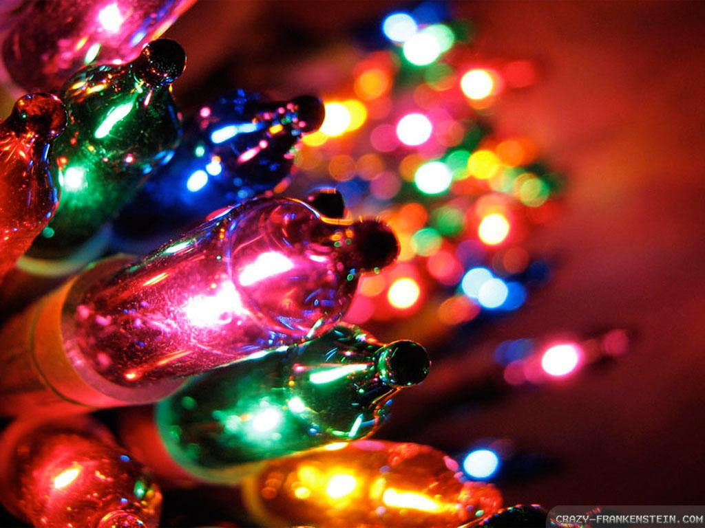 Colored Christmas Lights
