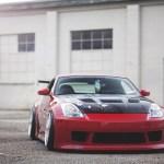 Nissan 350z Tuning Red Car Wallpaper 1680x1050 17535