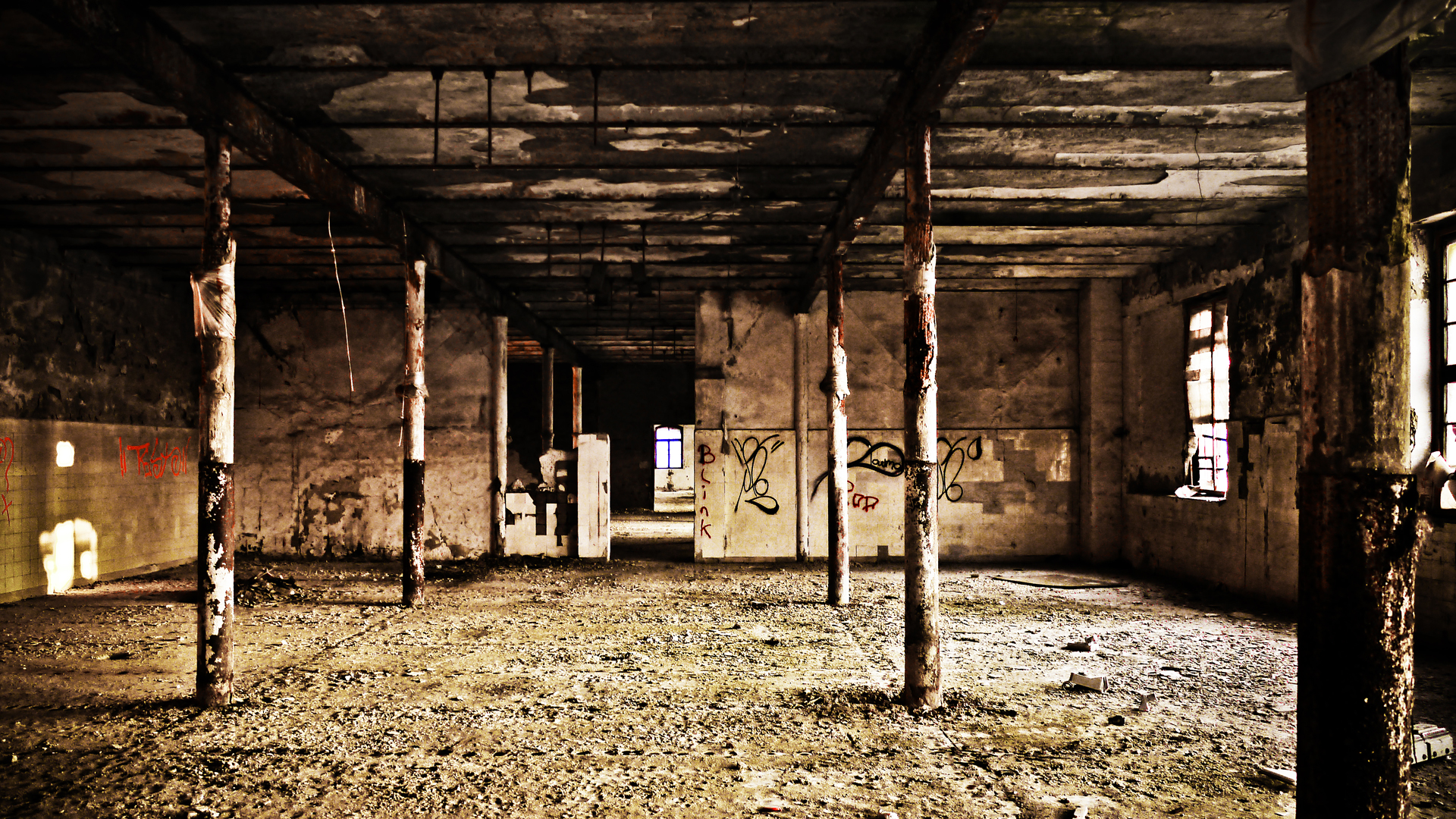Old Warehouse Wallpaper 1920x1080 33895