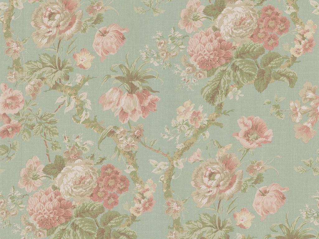 Vintage Flowers Wallpaper 1024x768 51904