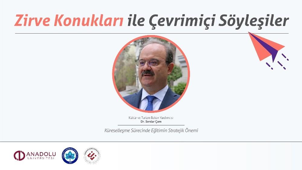 """Bakan Yardımcısı Dr. Çam, """"Tercihim Eskişehir"""" platformunda aday öğrencilerle buluştu"""