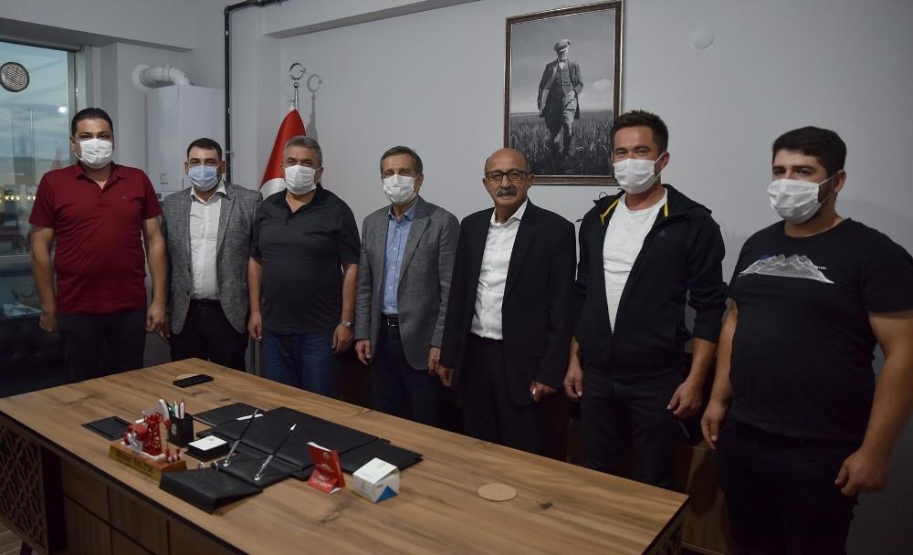 Başkan Ataç'tan TÜMBİFED'e hayırlı olsun ziyareti
