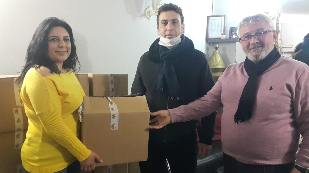 Yurt dışında yaşayan Avrupalı Türklerin bağışları Eskişehir'de yardıma dönüştü