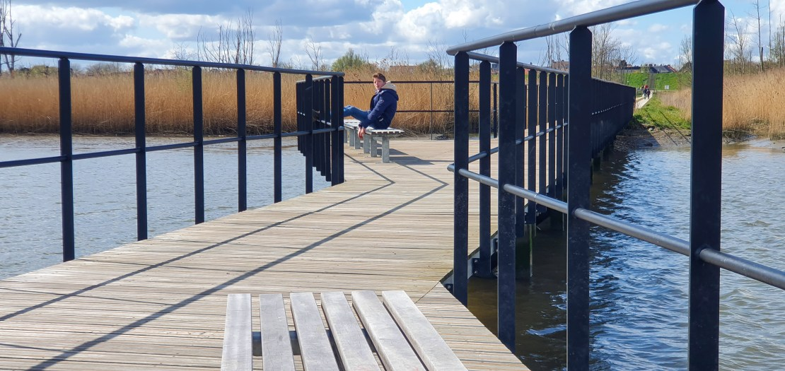 Kruibeekse polder - Vlonderpad