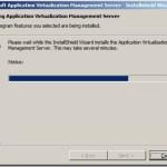 Installation of App-V 4.6 Management Server in Windows Server 2008