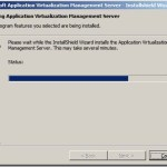 Installation of App-V 4.6 Management Server in Windows Server 2008