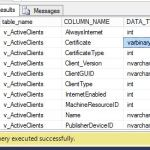 Download SCCM Configmgr 2012 SQL Views Documentation