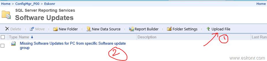 SCCM Configmgr SSRS Report Get list of missing updates for