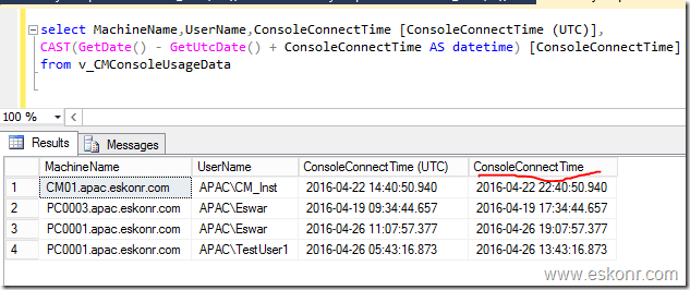 How to Monitor Configuration manager Console Usage Data ...