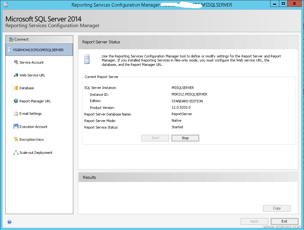 SCCM Configmgr Unable to run SSRS reports due to HTTP 500 Internal