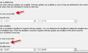 SCCM ConfigMgr Available and Required Deployment options for content download