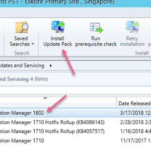 SCCM Configmgr Current Branch 1802 is now available new features and product enhancements!