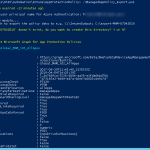 How to export Intune MAM policy settings using powershell ?