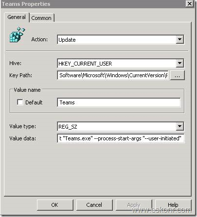 How to disable or enable auto start of Teams application using GPO