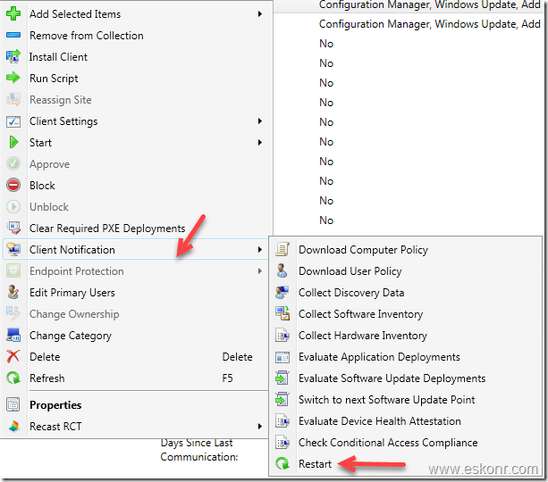 SCCM Report Get list of devices with pending reboot in a collection