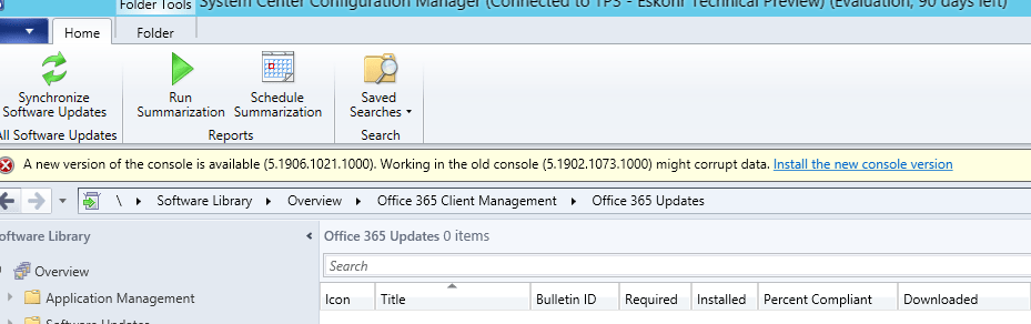 Office 365 Version 1903