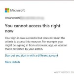 Conditional access to block browser session for intune MDM enrolled devices